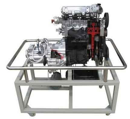 Automotive training model  cutaway engine with transmission dissection trainer engine training model